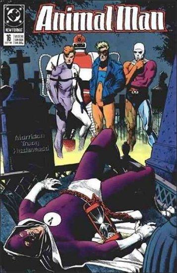 ANIMAL MAN #16 VF/NM (1988)