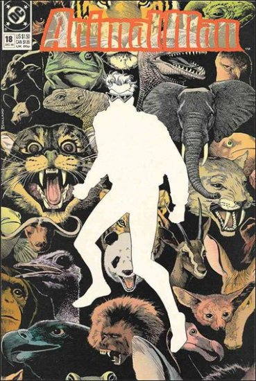 ANIMAL MAN #18 VF/NM (1988)