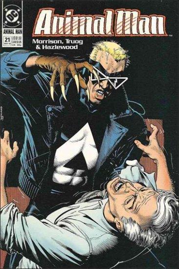 ANIMAL MAN #21 VF/NM (1988)