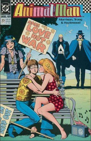 ANIMAL MAN #23 VF (1988)