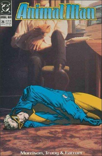 ANIMAL MAN #26 VF/NM (1988)