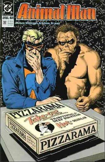 ANIMAL MAN #32 VF/NM (1988)