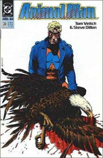 ANIMAL MAN #33 VF/NM (1988)