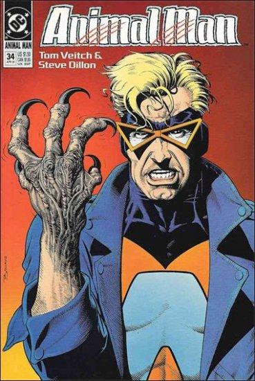 ANIMAL MAN #34 VF (1988)
