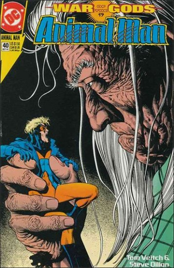 ANIMAL MAN #40 VF/NM (1988)