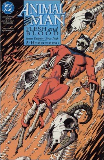 ANIMAL MAN #52 VF/NM (1988)