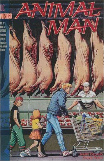 ANIMAL MAN #57 VF/NM (1988) *VERTIGO*