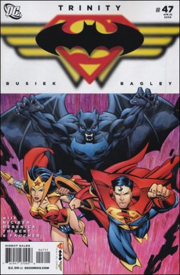 TRINITY #47 NM (2009) SUPERMAN, BATMAN, WONDER WOMAN
