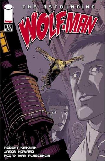 ASTOUNDING WOLF-MAN #13 NM (2009)*IMAGE*