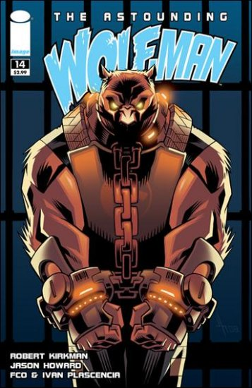 ASTOUNDING WOLF-MAN #14 NM (2009)*IMAGE*