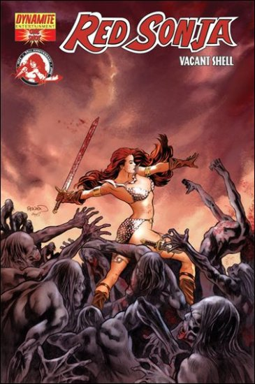 """RED SONJA VACANT SHELL ONE-SHOT- RENAUD """"A"""" COVER"""