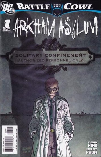 BATMAN: BATTLE FOR THE COWL: ARKHAM ASYLUM #1 ONE-SHOT NM (2009)