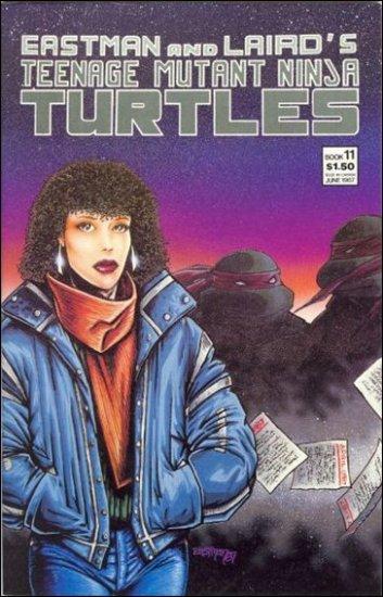 TEENAGE MUTANT NINJA TURTLES VOL 1 #11