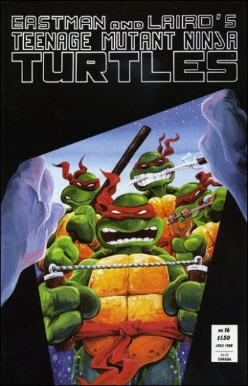 TEENAGE MUTANT NINJA TURTLES VOL 1 #16