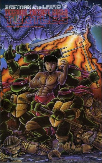 TEENAGE MUTANT NINJA TURTLES VOL 1 #18