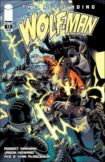 ASTOUNDING WOLF-MAN #15 NM (2009)*IMAGE*