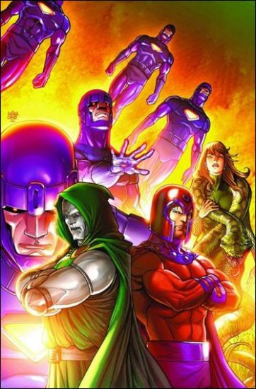 DR. DOOM AND THE MASTERS OF EVIL #4 NM (2009)