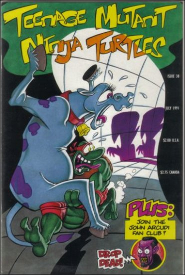 TEENAGE MUTANT NINJA TURTLES VOL 1 #38