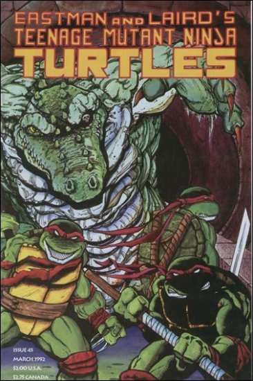 TEENAGE MUTANT NINJA TURTLES VOL 1 #45