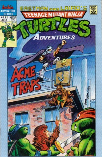TEENAGE MUTANT NINJA TURTLES ADVENTURES VOL 2 #22 *ARCHIE*