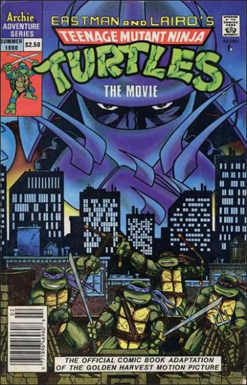 TEENAGE MUTANT NINJA TURTLES THE MOVIE #1 *ARCHIE*