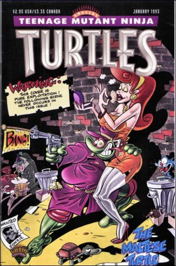 TEENAGE MUTANT NINJA TURTLES THE MALTESE TURTLE #1 *MIRAGE*