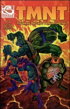 TEENAGE MUTANT NINJA TURTLES VOL 4 #7 *MIRAGE*