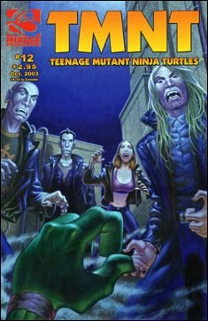 TEENAGE MUTANT NINJA TURTLES VOL 4 #12 *MIRAGE*