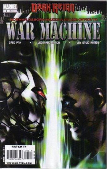 WAR MACHINE #5 NM (2009) *DARK REIGN*
