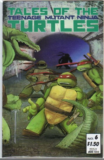TALES OF THE TEENAGE MUTANT NINJA TURTLES #6(1987)