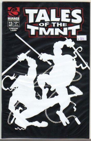 TALES OF THE TEENAGE MUTANT NINJA TURTLES #5(2004)