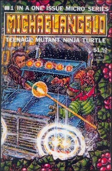 MICHAELANGELO TEENAGE MUTANT NINJA TURTLES MICRO SERIES (1986)