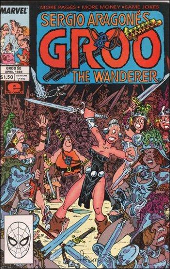 GROO #50 (1985) VF/NM