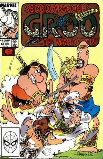 GROO #63 (1985) VF/NM