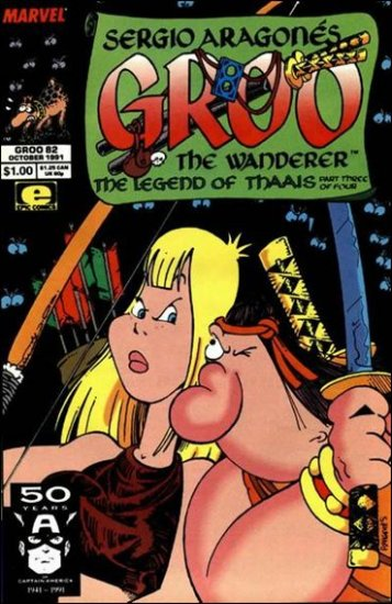 GROO #82 (1985) VF/NM