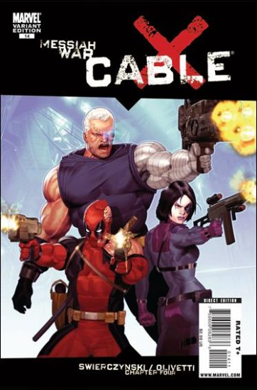 CABLE #14 VARIANT NM (2009) *MESSIAH WAR*
