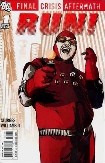 FINAL CRISIS AFTERMATH: RUN! #1 NM (2009)