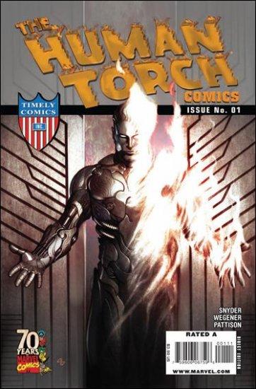 HUMAN TORCH COMICS #1 NM (2009)