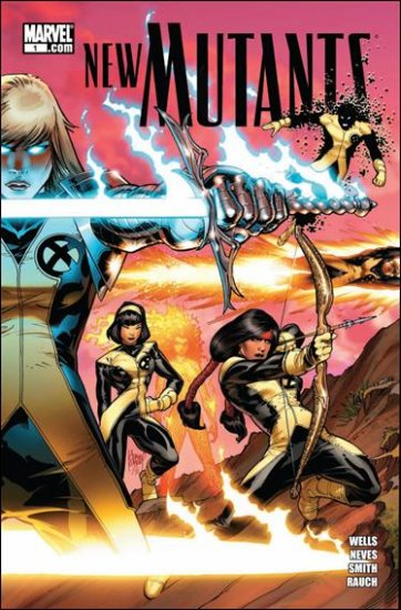 NEW MUTANTS #1 NM (2009) A COVER
