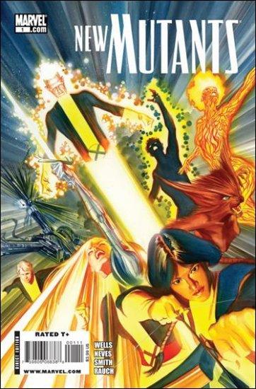 NEW MUTANTS #1 NM (2009) B COVER