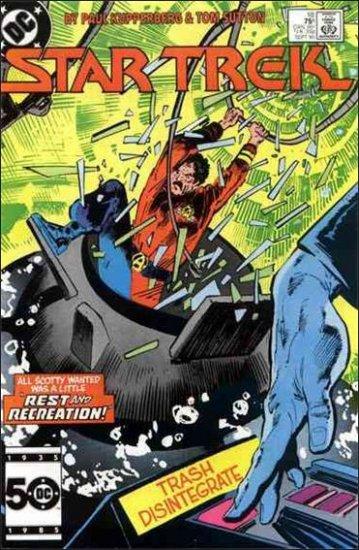 STAR TREK  #18  VF/NM (1984)