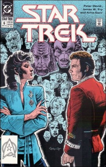STAR TREK  #6 VF (1989)