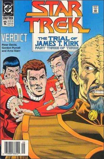 STAR TREK  #12 VF/NM (1989)