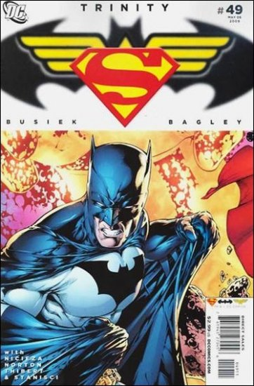 TRINITY #49 NM (2009) SUPERMAN, BATMAN, WONDER WOMAN
