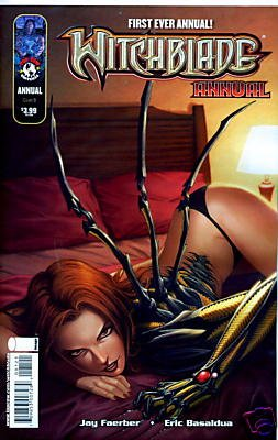 "WITCHBLADE ANNUAL 2009 ""B"" COVER  NM (2009)"