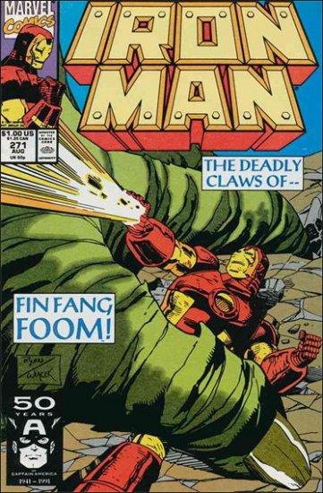 IRON MAN #271 VF/NM (1968)