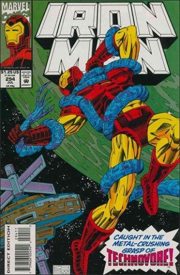 IRON MAN #294 VF/NM (1968)