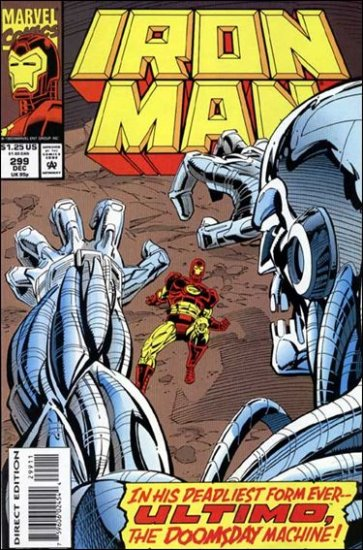 IRON MAN #299 VF/NM (1968)