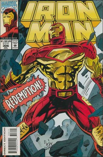 IRON MAN #306 VF/NM (1968)