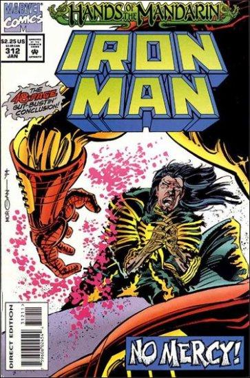 IRON MAN #312 VF/NM (1968)
